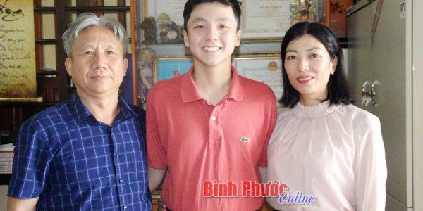 Học sinh EK13 được vinh danh Công dân tiêu biểu thị xã Phước Long