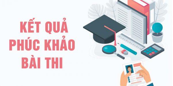 Thông báo kết quả chấm phúc khảo kỳ thi tuyển sinh vào lớp 10 năm học 2020-2021